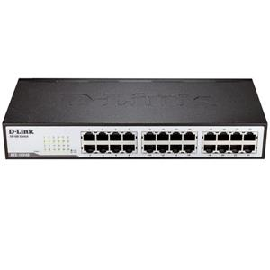 سوئیچ دی لینک  DES-1024D-24 Port Unmanaged Rackmount Switch